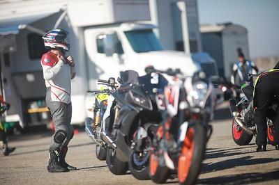 #9 - Terry B Honda CB 1000 White