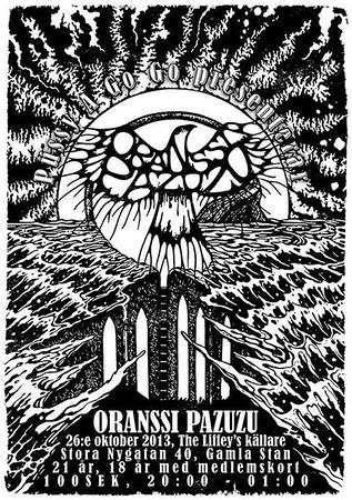 ORANSSI PAZUZU - The Liffey 26/10 2013