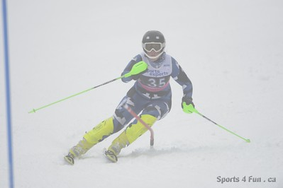 Slalom, Ladies CAN - QC - MONT ST SAUVEUR 1/12/2013