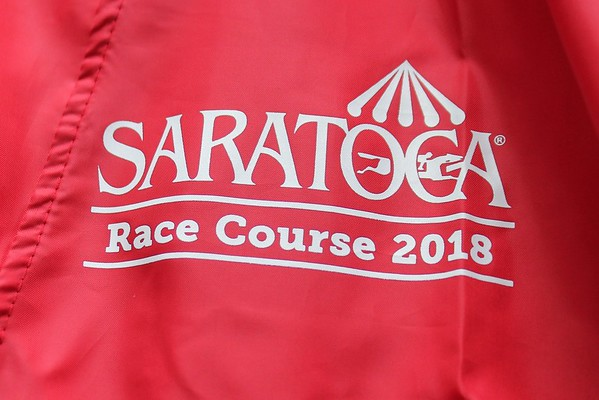 Jacket Giveaway at Saratoga Race Course