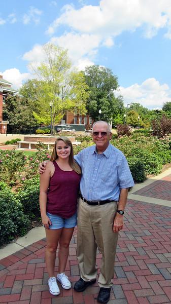 September 2015 Visit to Kellie at MSU in Starkville, MS
