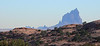 Shiprock Peak<br /> (Tsé Bit' A'í - Rock With Wings)<br /> View from the Beclabito Dome in Shiprock (Naat'áanii Nééz or Tóhní), New Mexico. <br /> <br /> Available - Giclee on canvas, 26 x 12
