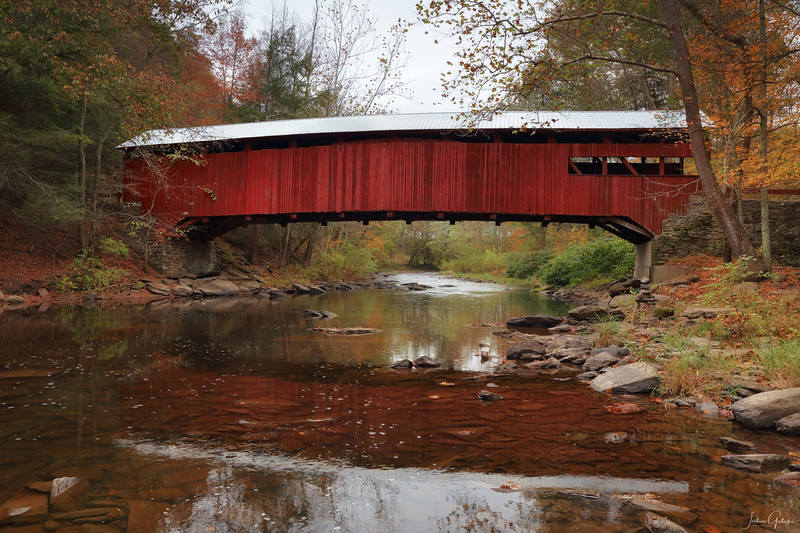 Josiah Hess Covered Bridge, Columbia County, PA