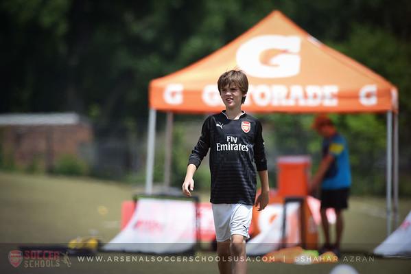 G @ Arsenal Soccer Schools USA - Summerfuel