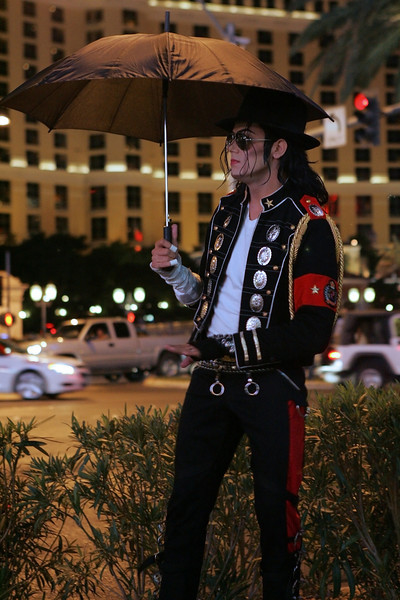 Michael Jackson alive and well in Nevada.