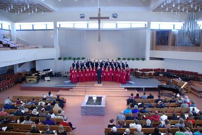 2011 03 27:  UMinnMorris Concert, Roseville Lutheran, Roseville MN