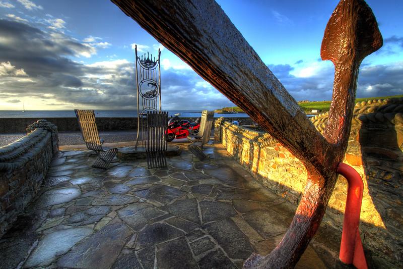 14. Clare The five pilots monument, Kilbaha, Loop Head