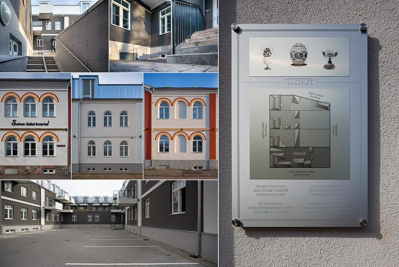 Saksa seltsi kvartal, Pärnu