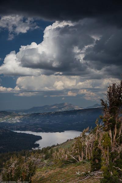 Thunderstorm Gathering over Caples Lake