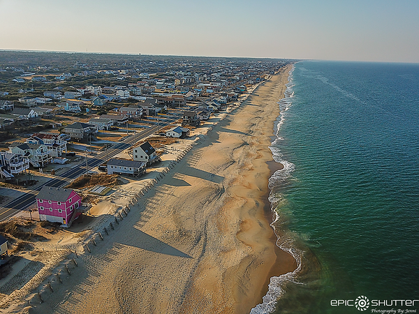 March 10, 2021 Aerial Photography, Kitty Hawk, NC
