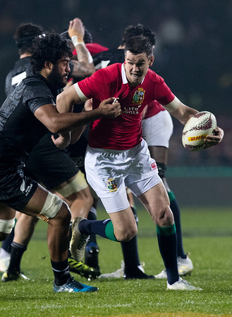 Johnny Sexton during game 5 of the British and Irish Lions 2017 Tour of New Zealand,The match between  The Maori All Blacks and British and Irish Lions, Rotorua International Stadium, Rotorua, Saturday 17th June 2017 (Photo by Kevin Booth Steve Haag Sports)  Images for social media must have consent from Steve Haag