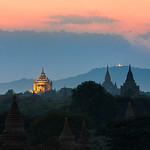 Temple Twilight - Bagan, Myanmar