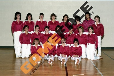 1983-1984 Women's Gymnastics