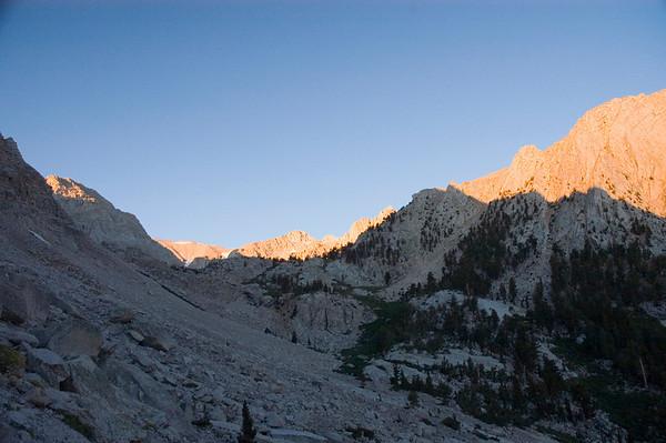 Lone Pine Peak North Ridge September 1, 2006