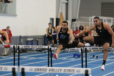 2017-2018 Grand Valley State University Indoor Track and Field