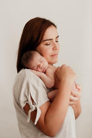 Mateo, recién nacido