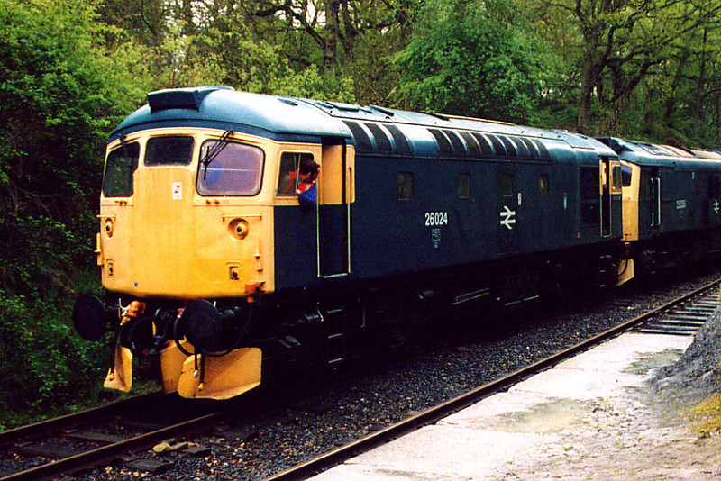 26024 at Birkhill on the 4th May 2003