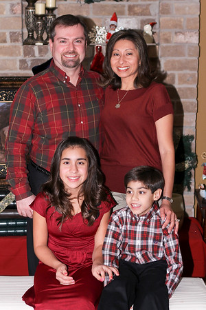 The Costa Family Christmas Photo Session