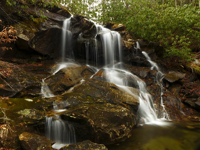 Dill, Upper Dill, and Herrin Knob Falls