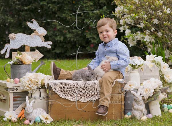 Clayton~Easter Bunny