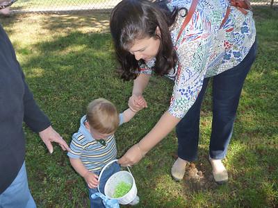 04-07 - Nicholas's First Easter Egg Hunt - Smyrna, GA