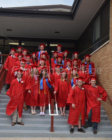 La Moille High School Graduation, May 29, 2015