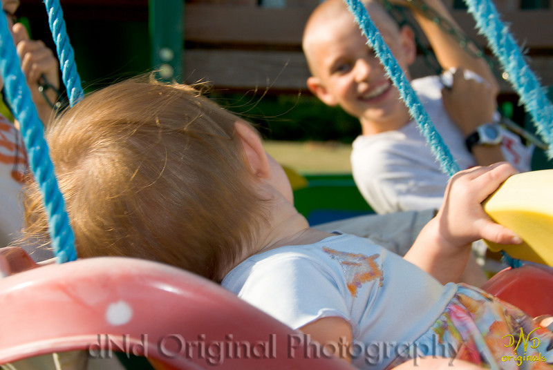 Allie Swinging
