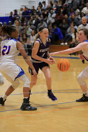 West Bladen vs Whiteville 2020 girls basketball
