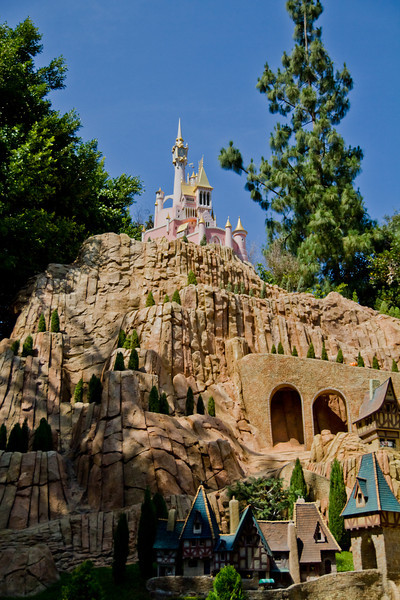 Cinderella's Town & Castle in Storybookland