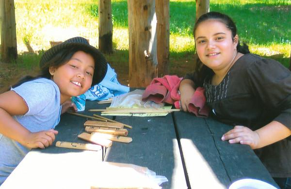 Pictures of Samira in School 2009