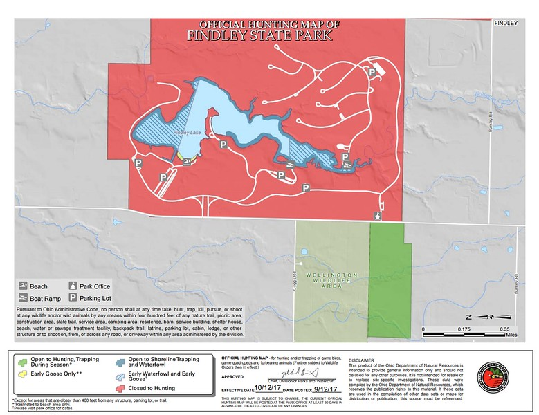 Findley State Park (Hunting Map)