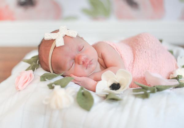 Newborn Baby Greta