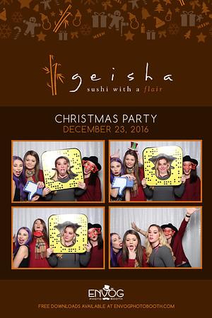 Geisha's Christmas Party (prints)