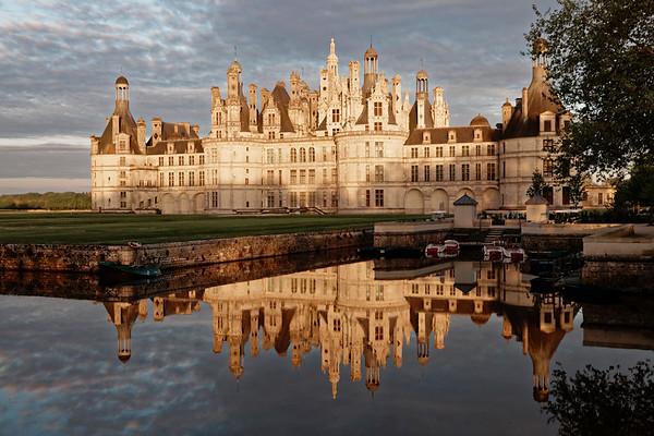 Château de Chambord - Exterieurs face Nord