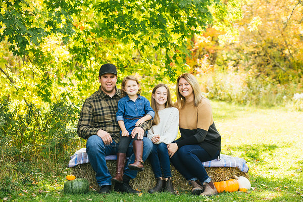Fall Family Mini Sessions-The McKnights