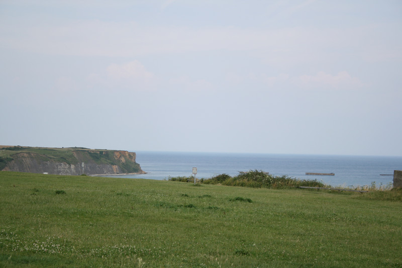 Next stop was the 360 degree movie in Arromanches.  These are the beaches in Arromanches.