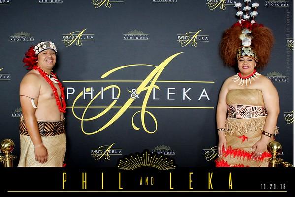 Phil & Leka's Wedding (Red Carpet)