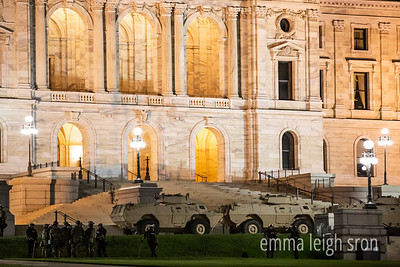 Minnesota State Capitol, National Guard - May 30