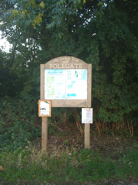 We ride the Cuckoo trail to Polegate