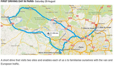 29 August 2015 - Paris-Giverny-Paris