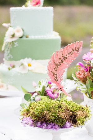 """Love takes flight"" styled shoot"