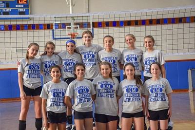 Girls Latin School Volleyball – 2018