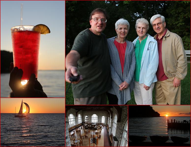 Kent, Sarah, Anita & David.  For the second consecutive year we explore the Door County Peninsula and add Washington and Rock Islands via ferry.