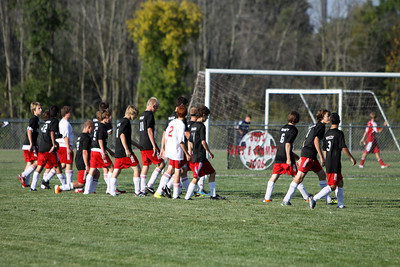 Boys JV Soccer - 2011-2012 - 9/20/2011 Big Rapids