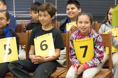 John Drugan Middle School Math Bee
