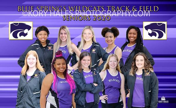 2020 Blue Springs High School Senior Girls Track & Field