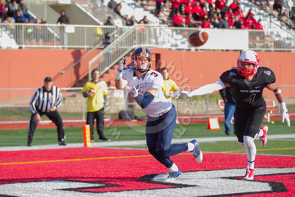 Wheaton College Football vs North Central (31-14)/ NCAA Playoffs, Round Two, November 26, 2016