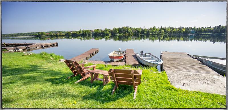 Waterfront at Constance Lake Lodge