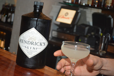 Hendrick's Gin Dinner November