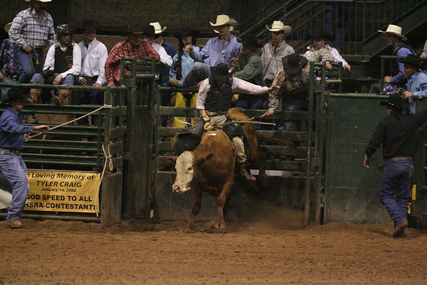 SLHSRA Bull Riding  02/24/2007